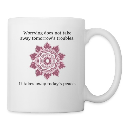 Today's Peace - Maroon - Coffee/Tea Mug