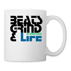Beats Grind Life Logo 1 Shirt Design - Coffee/Tea Mug