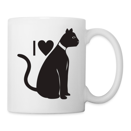 I Love Cats - Coffee/Tea Mug