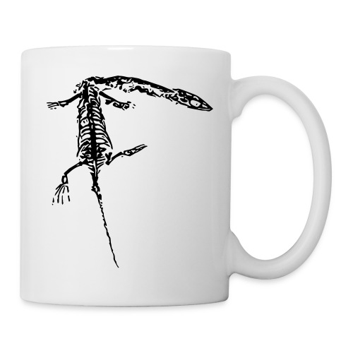 keichousaurus fossil pop art - Coffee/Tea Mug