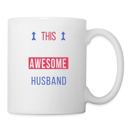 Husband Awesome Looks Birthday Christmas Cool Gift - Coffee/Tea Mug