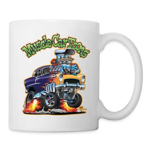 Muscle Car Toons Automotive Comic Book Cover Art - Coffee/Tea Mug