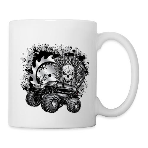 Metallic Monster Truck - Coffee/Tea Mug