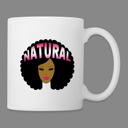 Natural Afro (Pink) - Coffee/Tea Mug