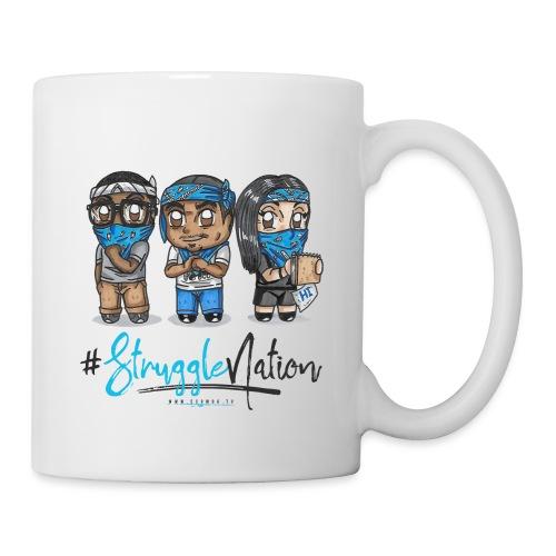 The Trio 3 (blue/black) - Coffee/Tea Mug