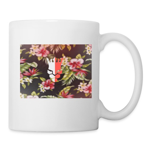 red & white evjay logo - Coffee/Tea Mug