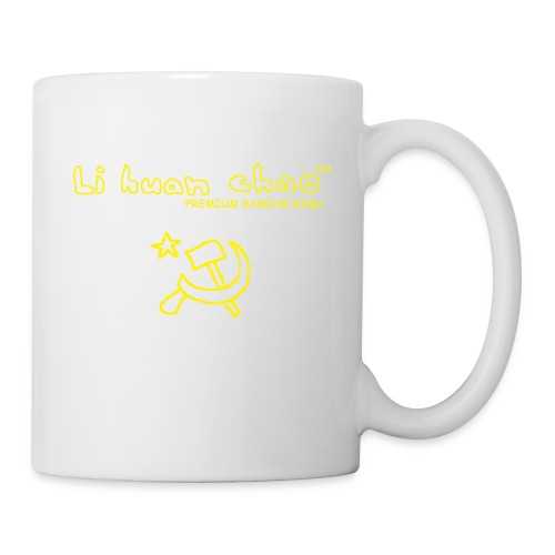 Full Li Huan Chao Logo Black+Yellow - Coffee/Tea Mug