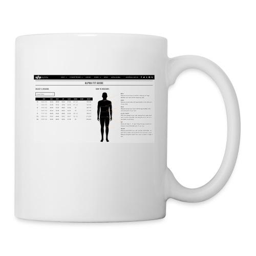 alpha fit guide - Coffee/Tea Mug