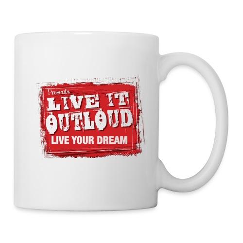 Live It OutLoud Logo - Coffee/Tea Mug