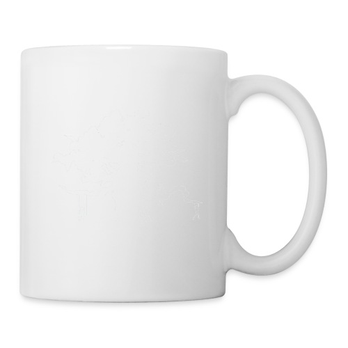 WD icon white - Coffee/Tea Mug