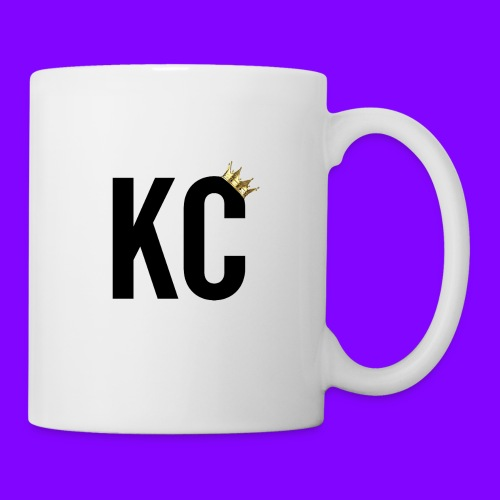 Black Font KC - Coffee/Tea Mug