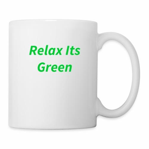 Relax Its Green Merch - Coffee/Tea Mug