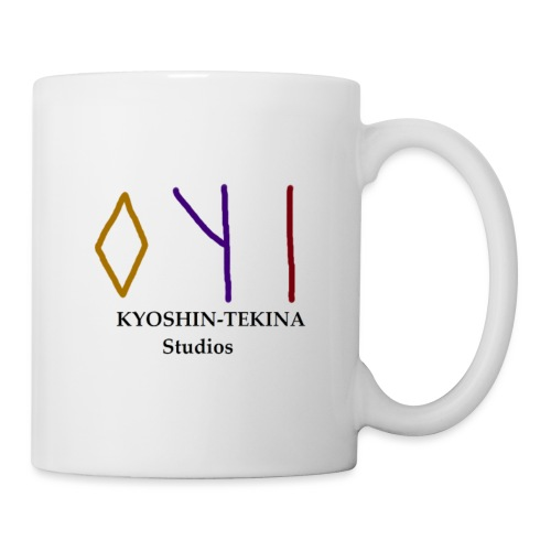 Kyoshin-Tekina Studios logo (black test) - Coffee/Tea Mug
