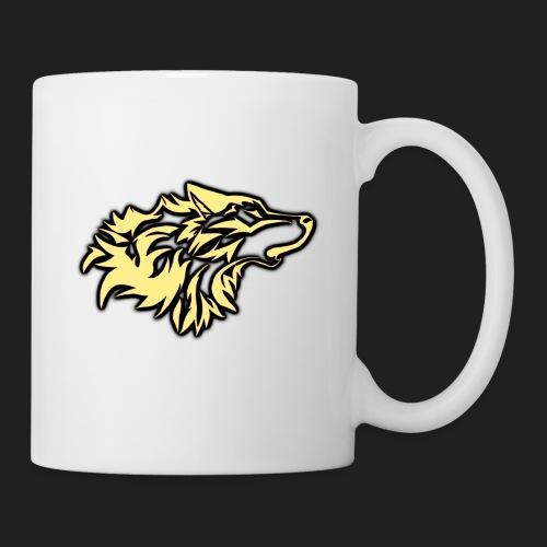 wolfepacklogobeige png - Coffee/Tea Mug