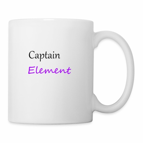 Captain Element Logo 2 - Coffee/Tea Mug