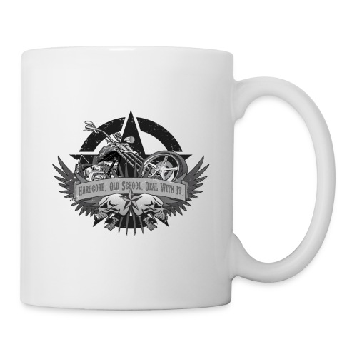 Hardcore. Old School. Deal With It. - Coffee/Tea Mug