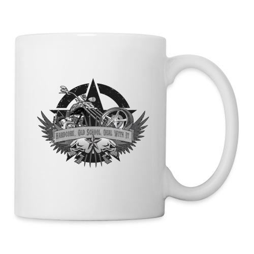 Hardcore. Old School. Deal With It. - Coffee/Tea Mug