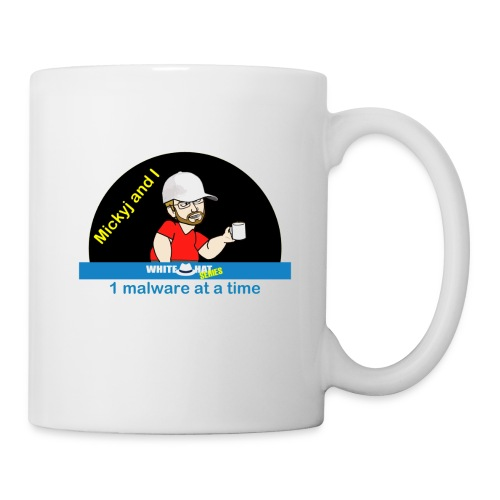 Mickyj - One Malware at a time (White) - Coffee/Tea Mug