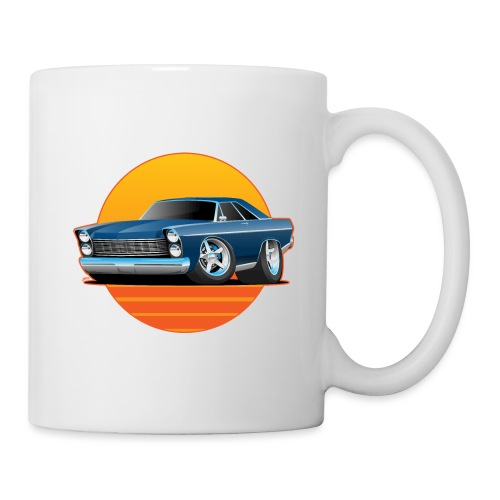 Classic Sixtes Big American Muscle Car - Coffee/Tea Mug