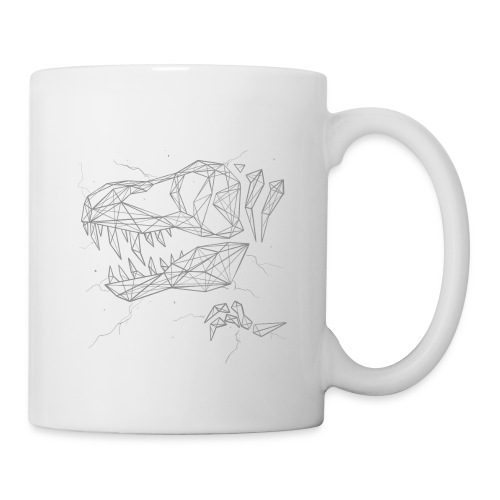 Jurassic Polygons by Beanie Draws - Coffee/Tea Mug
