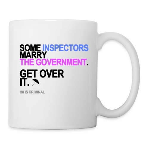 some inspectors marry the government lg - Coffee/Tea Mug