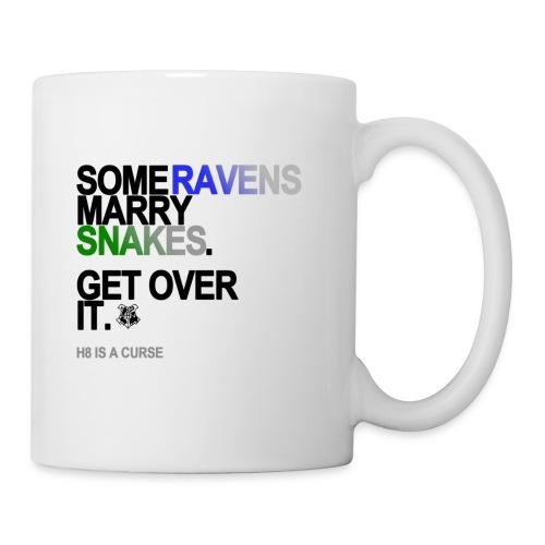 some ravens marry snakes lg transparent - Coffee/Tea Mug