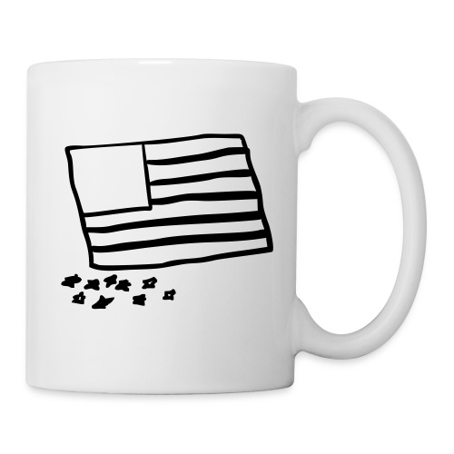 whiteonblackflag - Coffee/Tea Mug