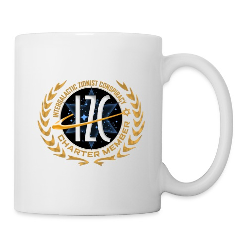 Intergalactic Zionist Conspiracy Charter Member - Coffee/Tea Mug
