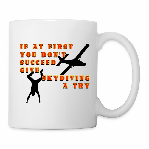 Try Skydiving - Coffee/Tea Mug