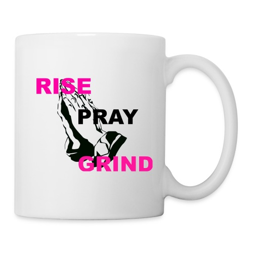 RISE_PRAY_GRIND_2 - Coffee/Tea Mug