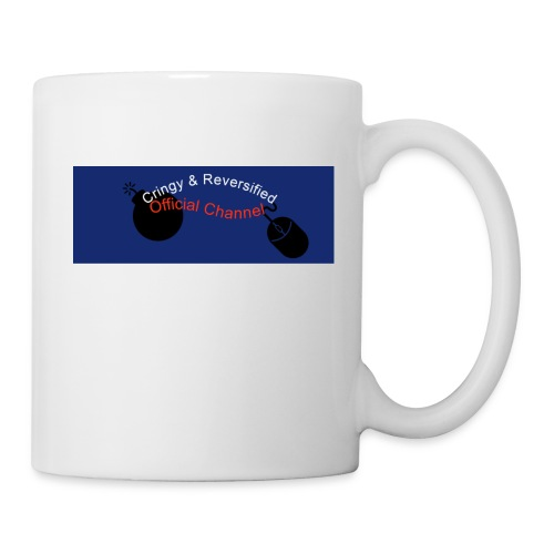 Cringy+Reversified YouTube Logo - Coffee/Tea Mug