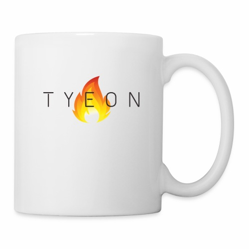 TYEON Flame Logo Black - Coffee/Tea Mug