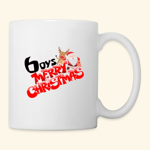The 6oys Christmas Edition - Coffee/Tea Mug