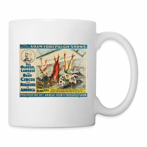 Human Flies - Retro Circus Act - Coffee/Tea Mug