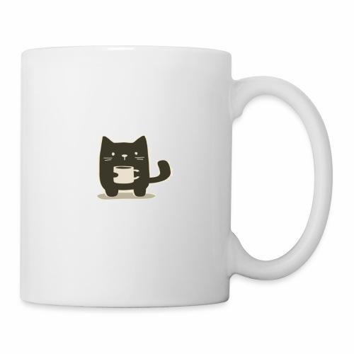 Cat holding Coffee Mug - Coffee/Tea Mug