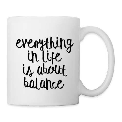Balance - Coffee/Tea Mug