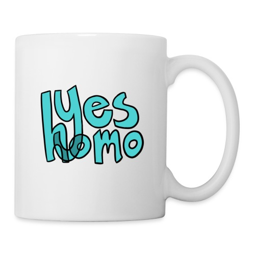 Yes Homo (Solid) - Coffee/Tea Mug