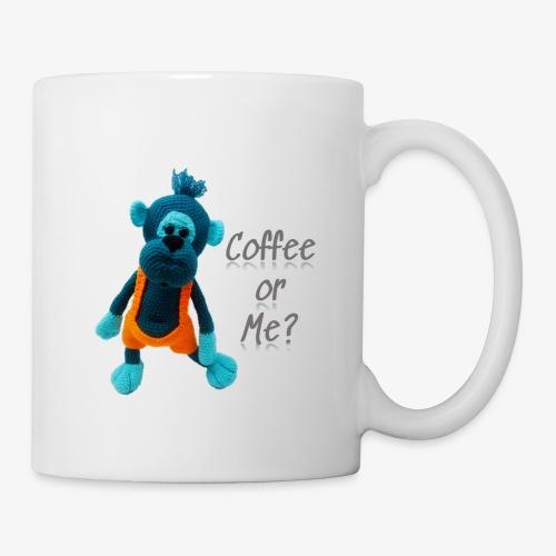 Blue monkey - Coffee/Tea Mug