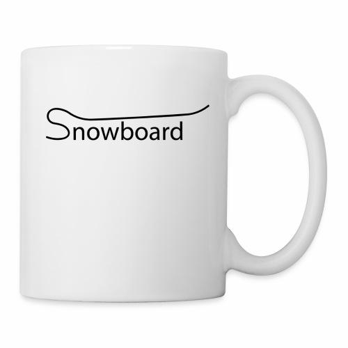 Snowboard - Coffee/Tea Mug