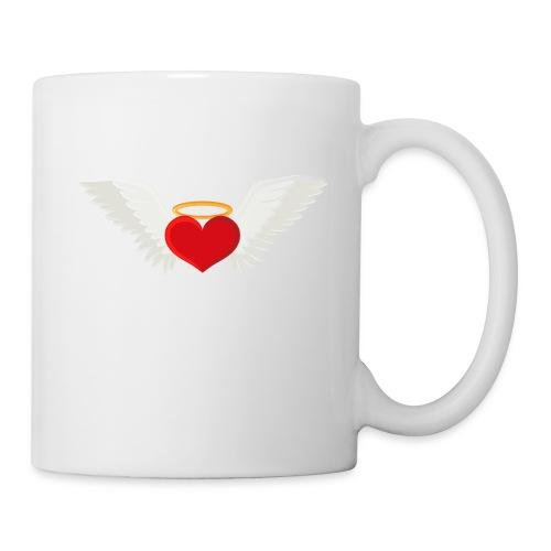 Winged heart - Angel wings - Guardian Angel - Coffee/Tea Mug
