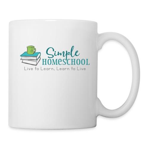 Simple Homeschool Logo with Motto - Coffee/Tea Mug