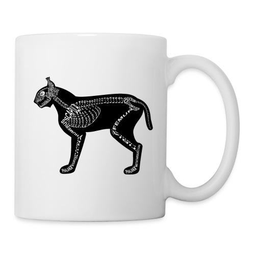Skeleton Lynx - Coffee/Tea Mug