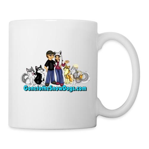 Snow Dogs Vlogs Logo - Coffee/Tea Mug