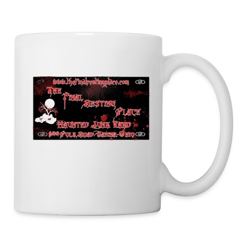 The_Final_Resting_Place_Logo_Address - Coffee/Tea Mug