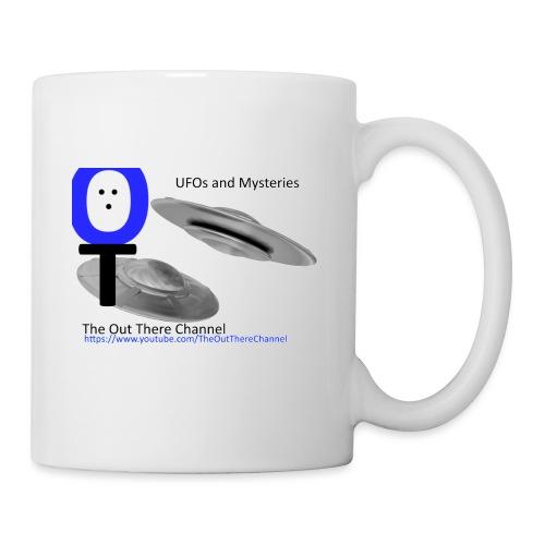 Outthere UtubeLogo2017 with Crew Back Logo - Coffee/Tea Mug