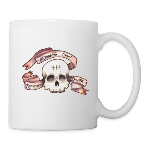 Momento Mori - Remember Death - Coffee/Tea Mug