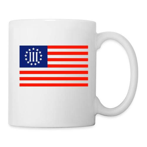 3 Percenters Flag - Coffee/Tea Mug