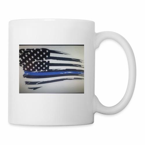 Back the Blue Flag Design - Coffee/Tea Mug