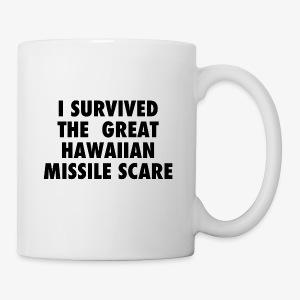 missile scare hawaii - Coffee/Tea Mug