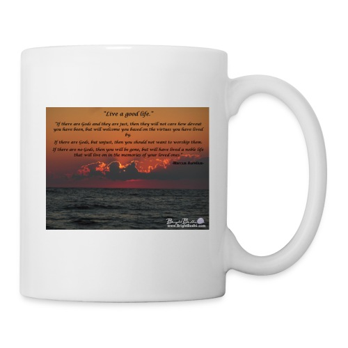 Marcus Aurelius- Live A Good Life - Coffee/Tea Mug